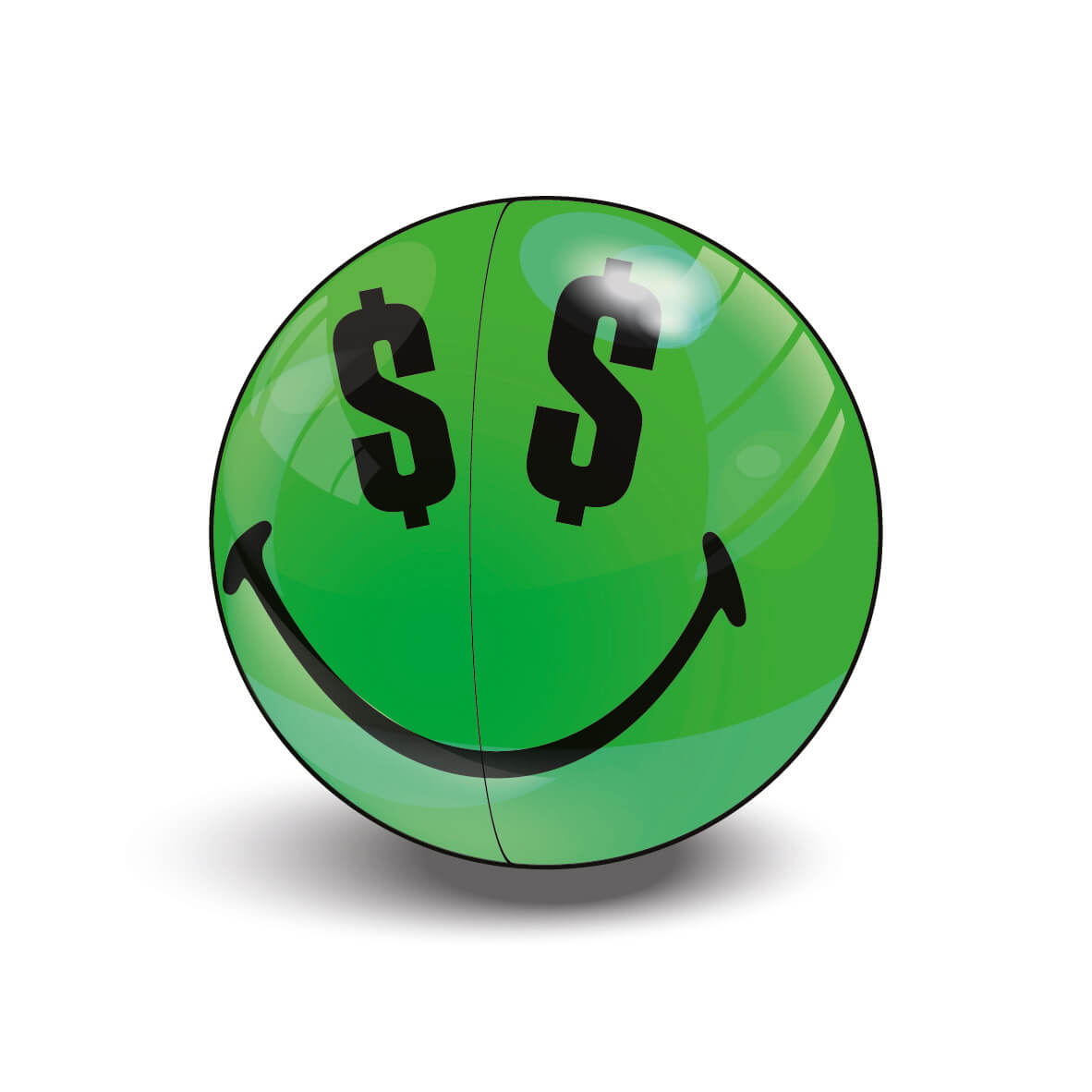 Green Ultra Rare Smiley Halves