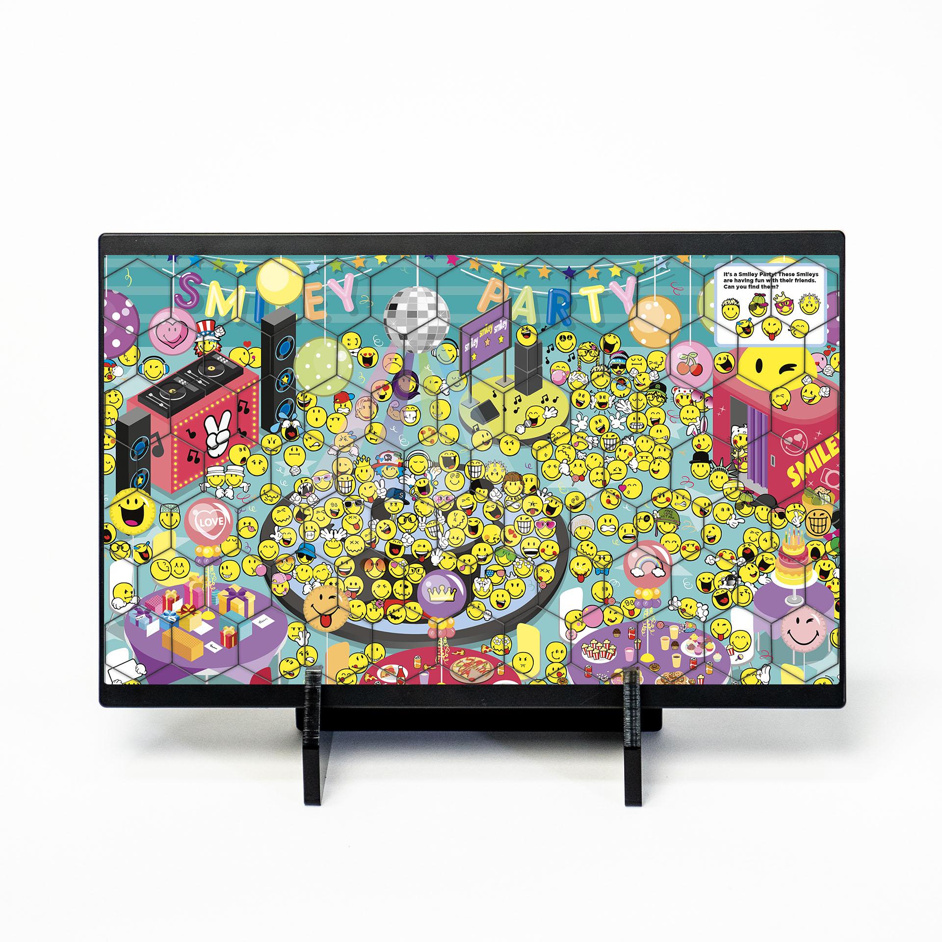 Smiley HEXA 2D Puzzle