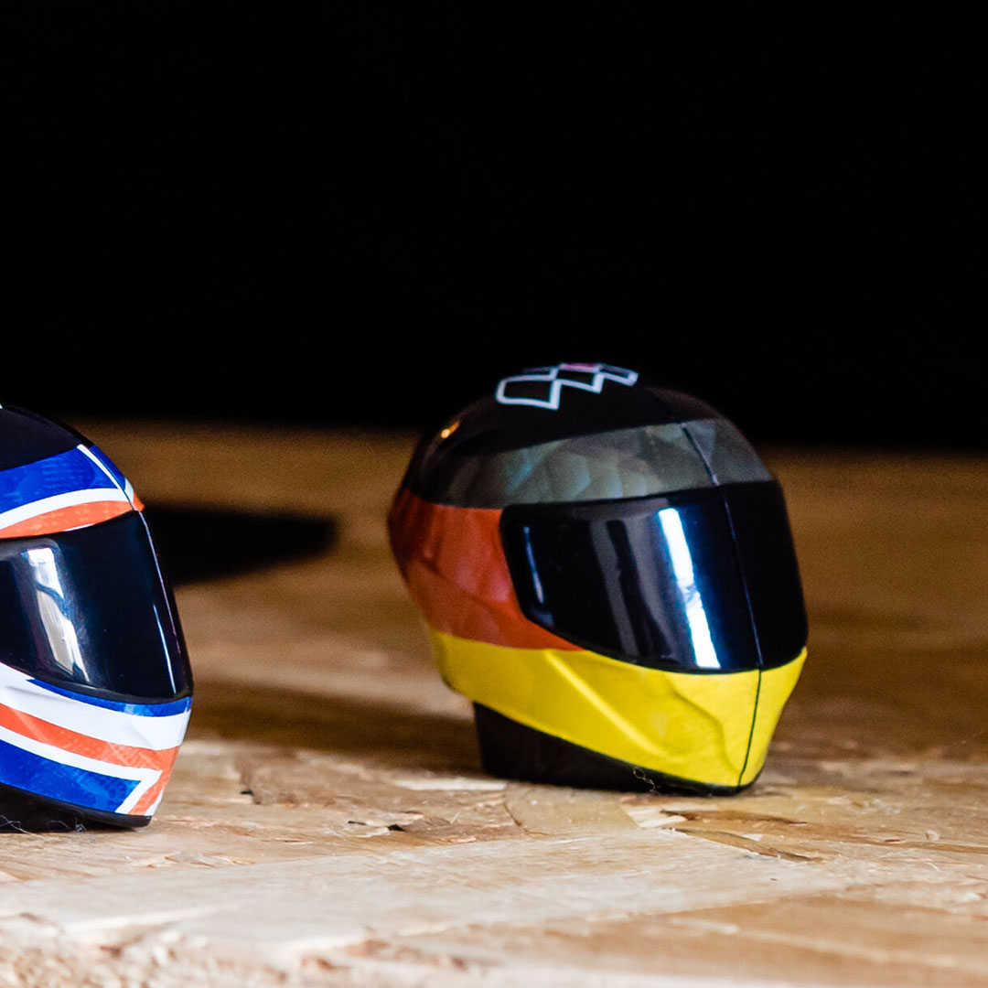 MotoGP Helmet Halves